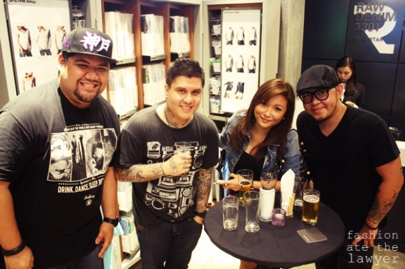 MC Paolo Avila Styles Ent, DJ Ron Poe P&P Styles Ent, Janina Dizon and Xander Angeles