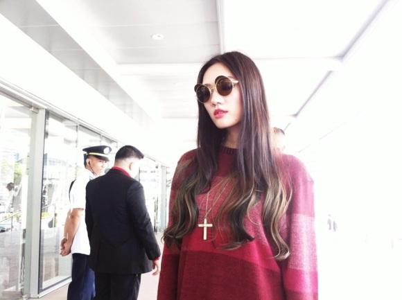 Supermodel Jessica Yang